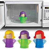 JN-STORE's Angry-Mama Microwave Oven Steam Cleaner Easily Cleans The Crud in Minutes. Angry Mama Steam Cleans and Disinfects Oven