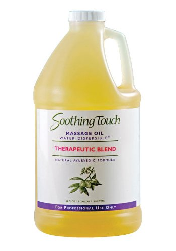 Soothing Touch W67362H Therapeutic Blend Oil, 1/2 Gallon