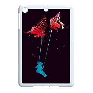 K-G-X Phone case For Ipad Mini 2 Case Case-Pattern-20 Elegent Angels Protective Back Case