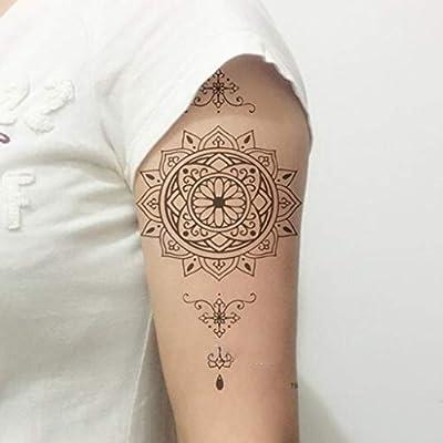 YSYYSH Brazo Pegatinas de Tatuaje de Larga duración a Prueba de ...