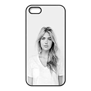 Celebrities Kate Upton Natural Beauty iPhone 5 5s Cell Phone Case Black Delicate gift AVS_536299