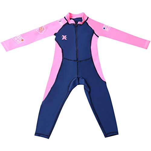 Boy Girl Wetsuit Swimsuit Kids Swimwear Long Sleeve Diving Suit UV 50+ Rashguard rash guard target 7