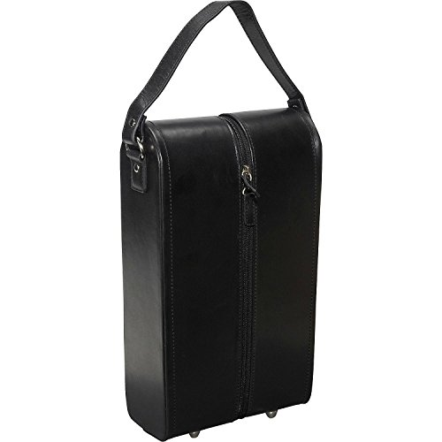 amerileather-leather-double-wine-case-holder-black