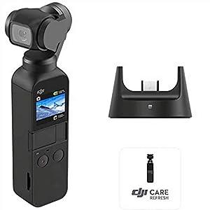 """DJI Osmo Pocket Prime Combo - Fotocamera Stabilizzata a Tre Assi con Kit Accessori e Care Refresh, Camera Integrata 12 MP 1/2.3"""" CMOS, Video in 4K, Collegabile a Smartphone, Android, iPhone - Black 1 spesavip"""