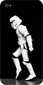 Storm Trooper Walking-Hard Black Plastic Snap - On Case with Soft Black Rubber Lining-Apple Iphone 5C ONLY- Great Quality!