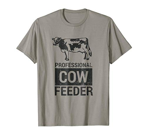 - Pro Cow Feeder Dairy & Beef Vintage Gift Shirt
