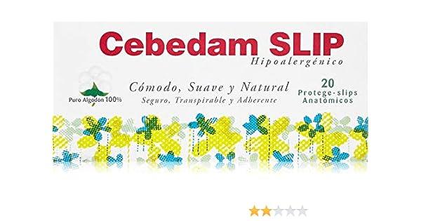 Cebedam Protege Slip Algodón 100% - 20 unidades: Amazon.es: Belleza