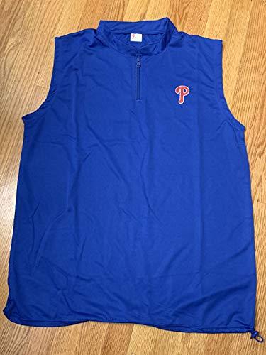 Philadelphia Phillies Phillies Fathers Day Chevrolet Golf Vest 1/4 Zip SGA Size XL SGA 06/09/19 Citizens Bank Park ()