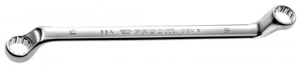 Facom 55A.19 X 22-Chiave Stella Contraacodada 19 X 22 Mm