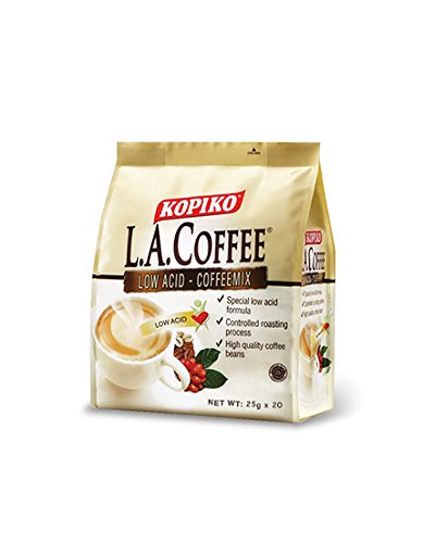 Kopiko L.A. Low Acid Coffee, 25 g x 27 Sachets Gastric ()