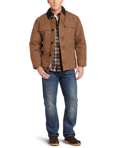 Carhartt' C26 Grès Traditionnel Manteau M Point De Riz
