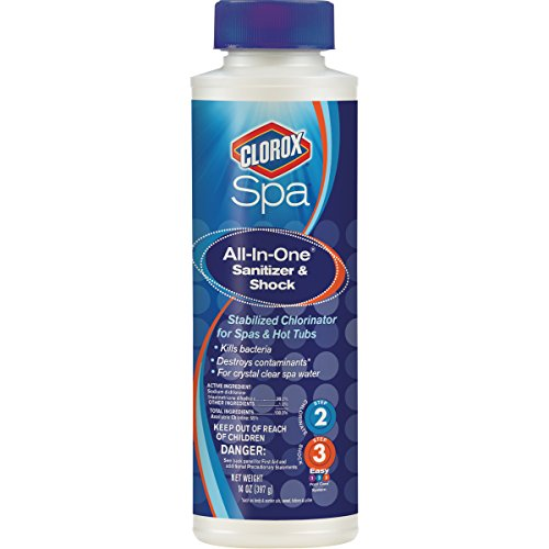 Clorox Spa 23014CSP All-In-One Sanitizer & Shock to Control Bacteria