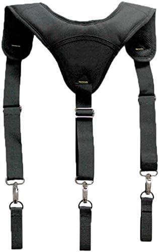 Tirantes de cintur/ón de herramientas resistentes y duraderos ajustables con tiradores acolchados de 3 puntos para carpintero electricista