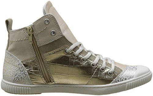 Pataugas Women's Banjou/M F2d Hi-Top Trainers Gold (Or 059) cheap sale clearance l59KPG2