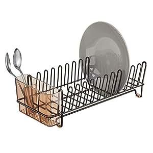 Amazon.com: mDesign - Escurridor de platos de cocina ...