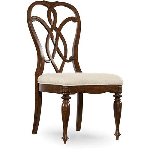 Hooker Furniture Leesburg Splatback Dining Side Chair in Mahogany by Hooker Furniture