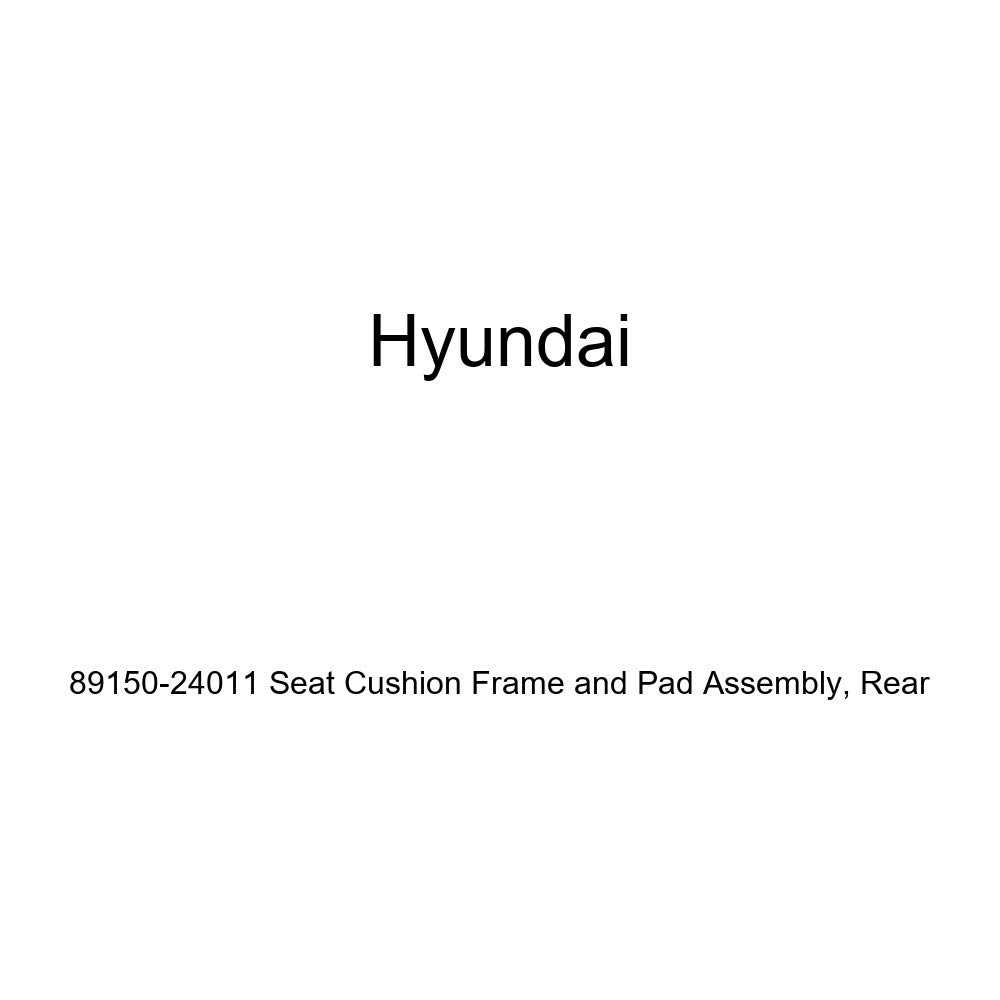 Genuine Hyundai 89150-24011 Seat Cushion Frame and Pad Assembly Rear