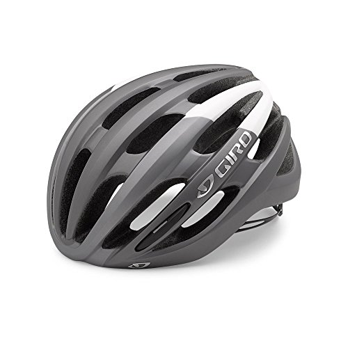 Giro Foray MIPS Road Cycling Helmet Matte Titanium/White Medium (55-59 cm) (Best Road Bike Helmet Under 100)