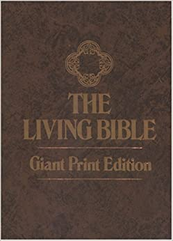 The Living Bible Large Print by Kenneth Nathaniel Taylor (1971-08-02)