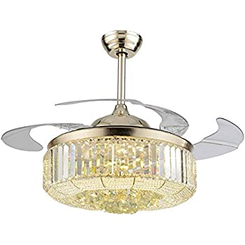 Lighting Groups 42 Inch Invisible Ceiling Fans With Light