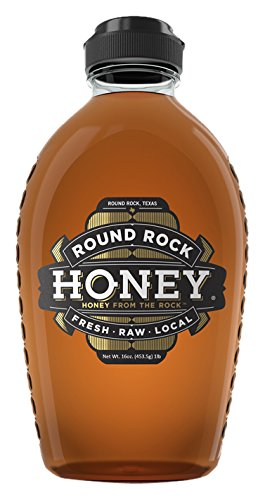 Round Rock Honey - 1 lb. bottle - Fresh, Raw & Local