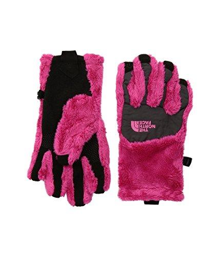 The North Face Girls' Denali Thermal Etip Glove - petticoat pink/graphite grey - Graphite Denali Fleece