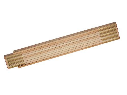 Stanley 0-35-455 Folding Rule of wood, Tan Brown