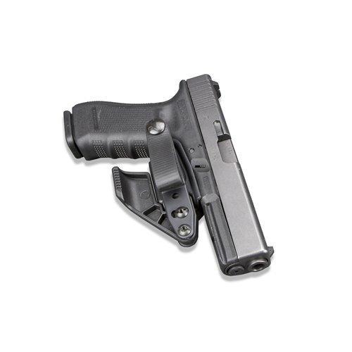 (Raven Concealment VanGuard 2 Holster Overhook Advanced Kit, Glock Gen 3/4, Black)