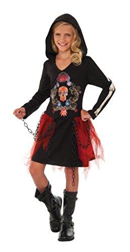 [Rubie's Costume Muertorita Deluxe Child Costume, Large] (Dia De Los Muertos Child Costumes)
