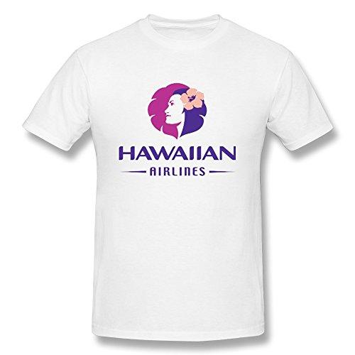 Ten Ci Mens Hawaiian Airlines T Shirt White L