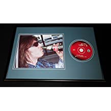 Mitch Hedberg Framed 12x18 Strategic Grill Locations CD & Photo Display