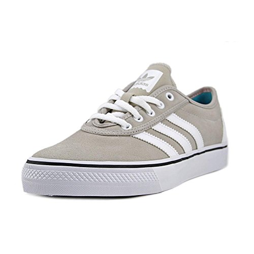 adidas performance maschile dga facilità pattinare scarpa, bianco / storm grey / shock