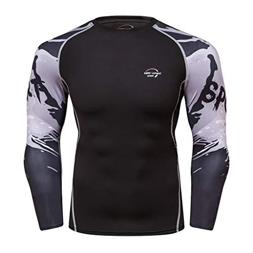 s Tracksuits Running Yoga Athletic Shirt (Black, X-Large) ()