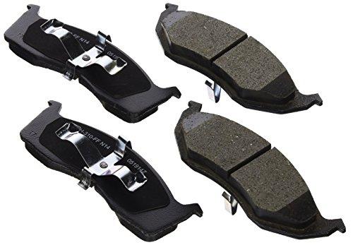Intrepid Front Brake Pads Rotors (Raybestos SGD730C Service Grade Ceramic Disc Brake Pad Set)