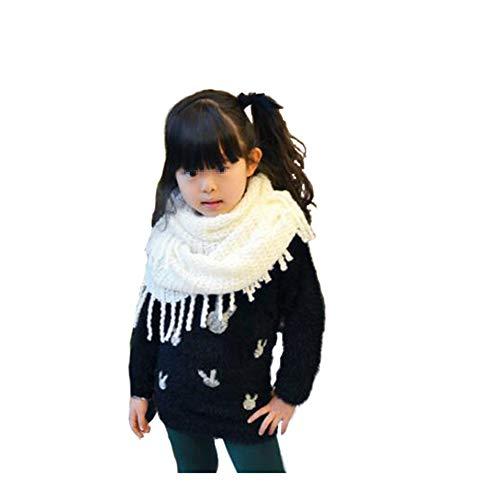 popcorn knit scarf - 4