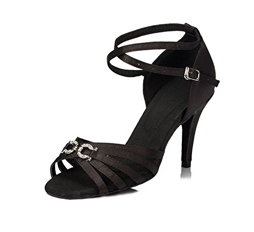 Miyoopark heel bal de Black femme 5cm 8 Salle n4FqS