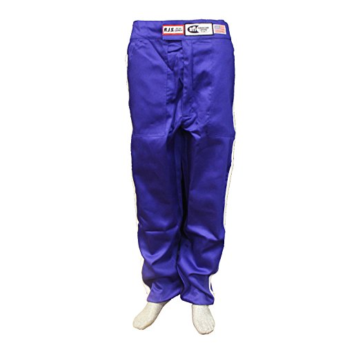 Racerdirect RJS Racing SFI 3-2A/1 Classic FIRE Suit Race Pants Blue Size Adult XL