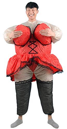 SATUKI Inflatable Costumes Adult,Halloween Party Funny Cosplay Ballroom