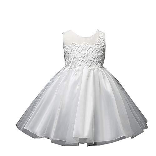 Dress for Baby Girls Dress 0-3 Months Toddler Summer Girls Dresses lace Ruffles Dance Dresses -