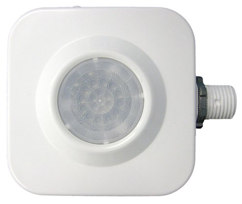Sensor Switch CMRB 6 High Bay, Passive Infrared Fixture Mount Occupancy Sensor, White