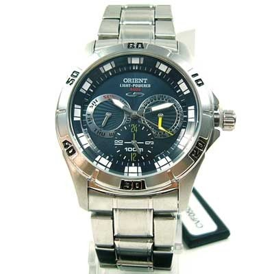 Orient CVF05001D0 Light Powered 4000 - Reloj solar para hombre
