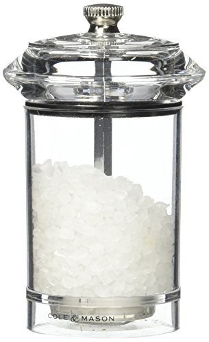 COLE & MASON Solo Salt Grinder - Acrylic Mill Includes Precision Mechanism and Premium Sea Salt by Cole & Mason (Image #7)