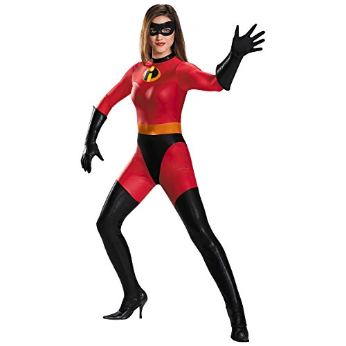 [Mrs Incredible Costume - Large - Dress Size 12-14] (The Incredibles Mrs Incredible Costumes)