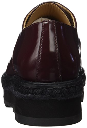 Castañer Women's Delia Platform Shoe Aubergine XtM8UYzh