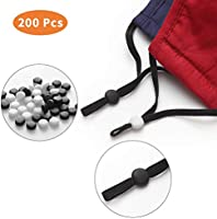 Cord Locks Silicone String Toggles for Elastic Band Adjuster Non Slip String Stopper Adjustable Cord Buckle