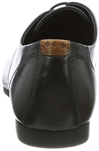 Black Derby Cast Scarpe Stringate Black Shoe Nero Sole 01 Base RepubliQ W Royal Uomo g67ff