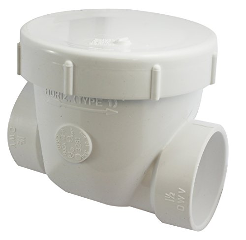 Septic backflow valve