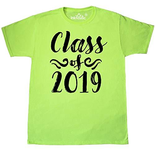 inktastic - Class of 2019- Swirls T-Shirt Medium Neon Green 3563e ()