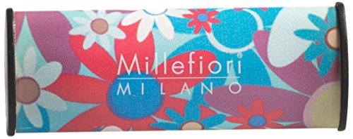 """Millefiori Milano 1CAR06 """"Cuori E Fiori"""" Car Air Freshener, Melody Flowers"""