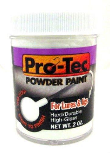 Pro-Tec Powder Paint 2 oz Jar ( White )